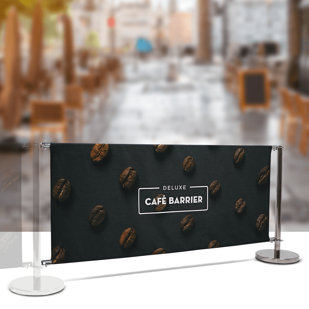 Cafe-Barrier Deluxe 2000 Double-Sided Extension