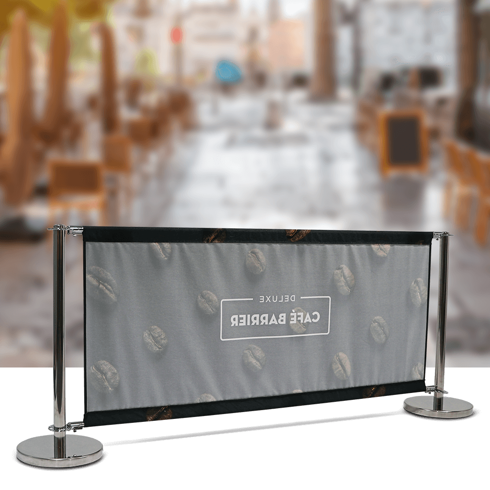 Cafe-Barrier Deluxe 2000 Single-Sided Rear
