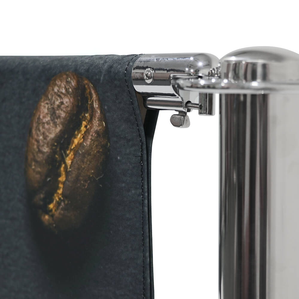 Cafe-Barrier Deluxe Detail Top Pocket With Double-Sided Graphic