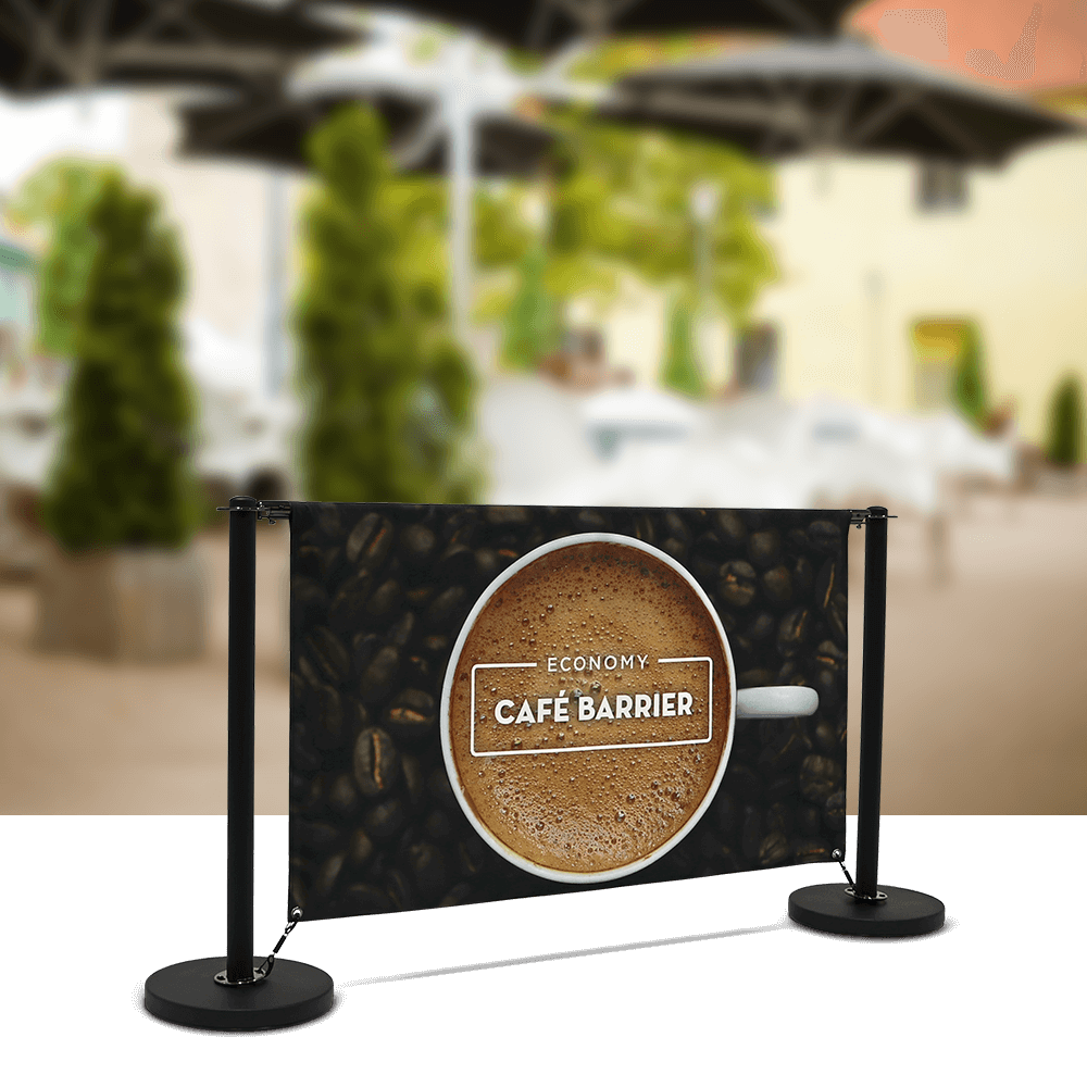 Cafe-Barrier Economy 1500 Double-Sided Front