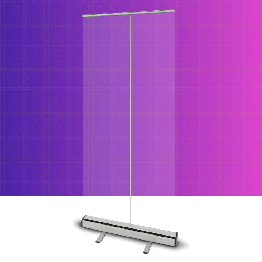Clear Roller Banner