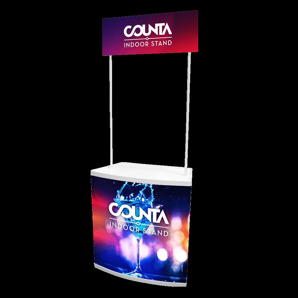 Counta Indoor Stand Design