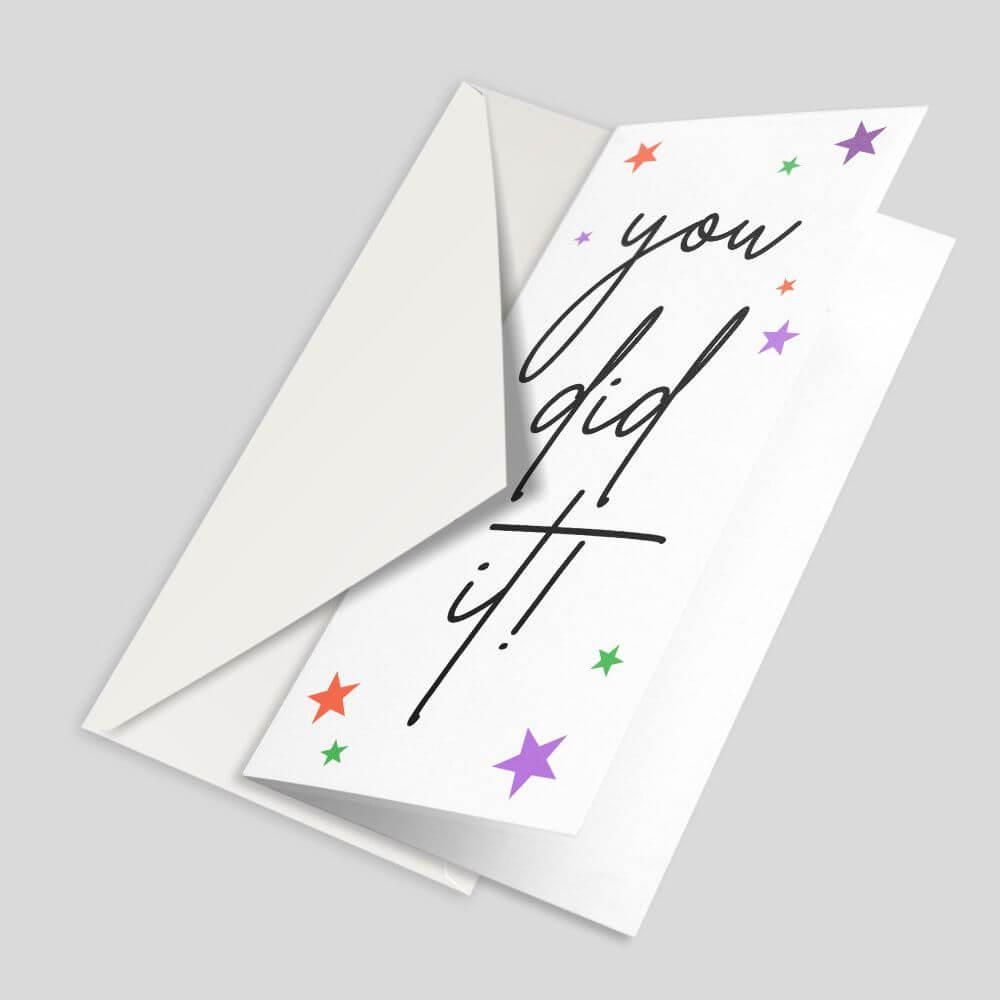 DL Greetings Card