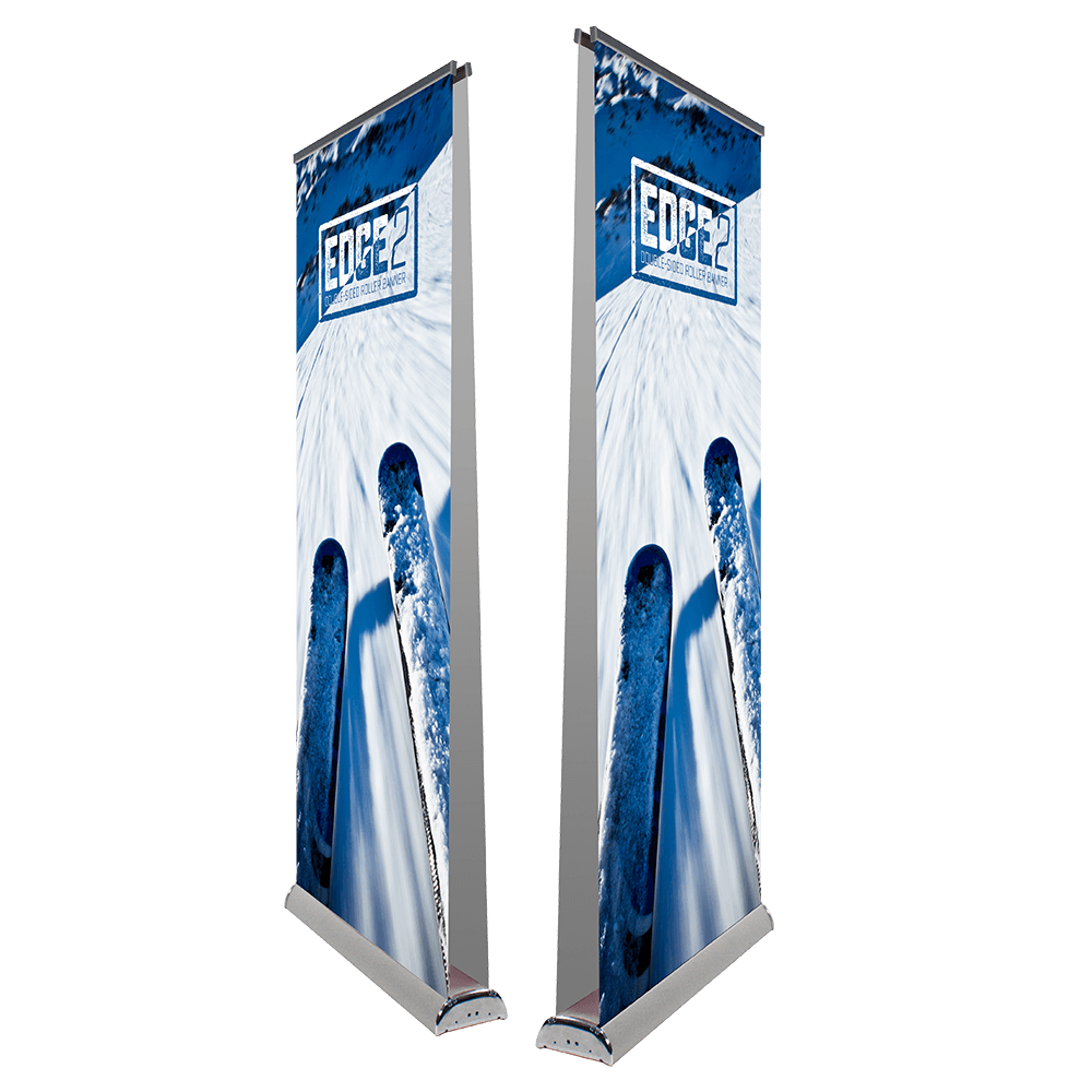 Edge 2 - Double sided Roller banner