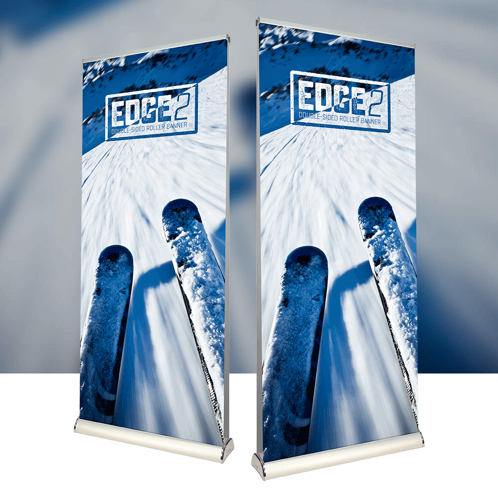 Back 2 Back Roller Banner from Newstyle Print
