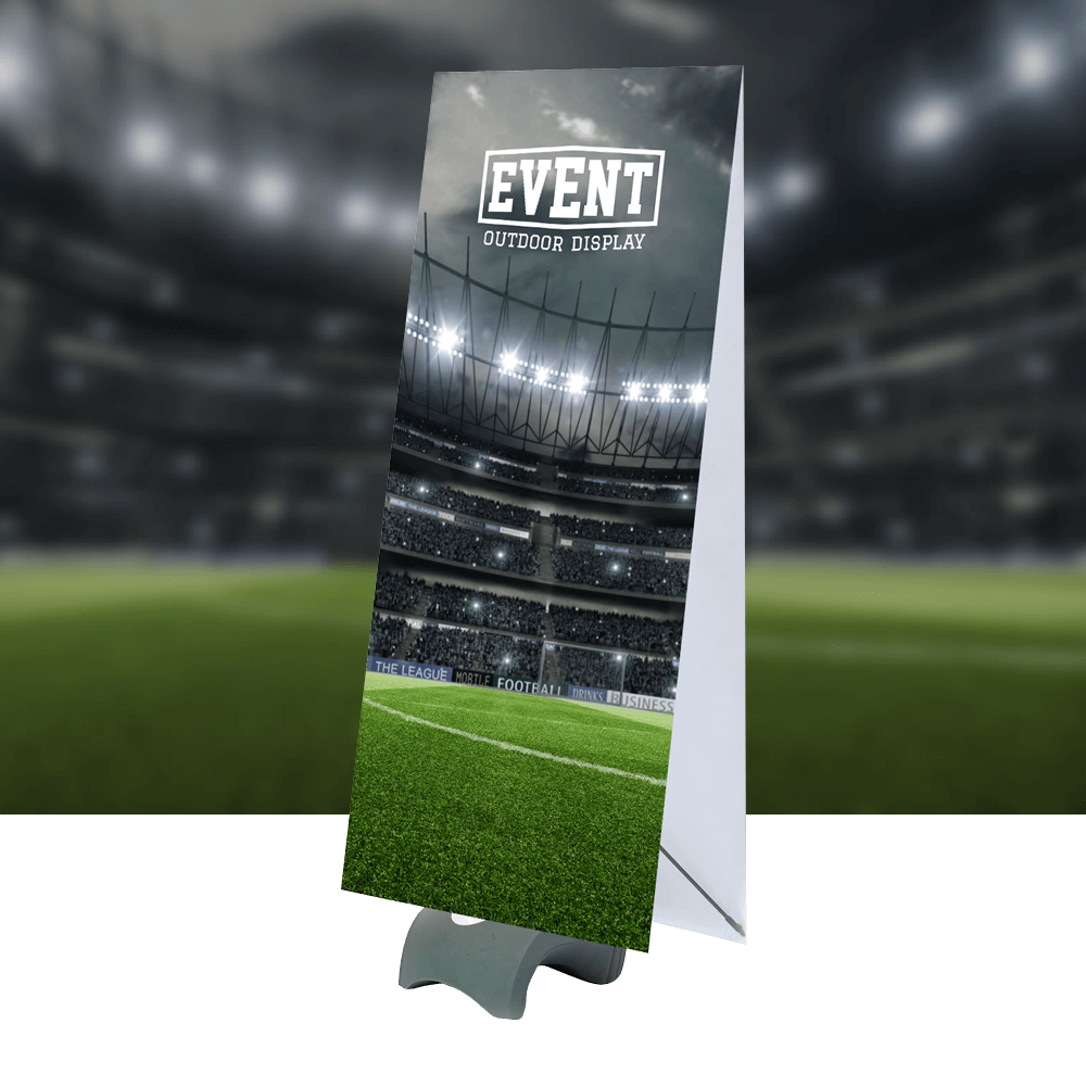 Event product image with background