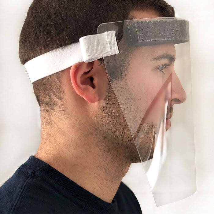 Face Shield - Side View