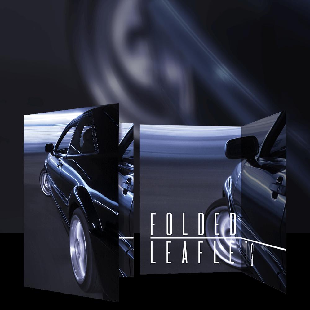 Folded Leaflets Product Image