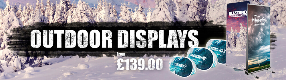 Outdoor Displays Slider