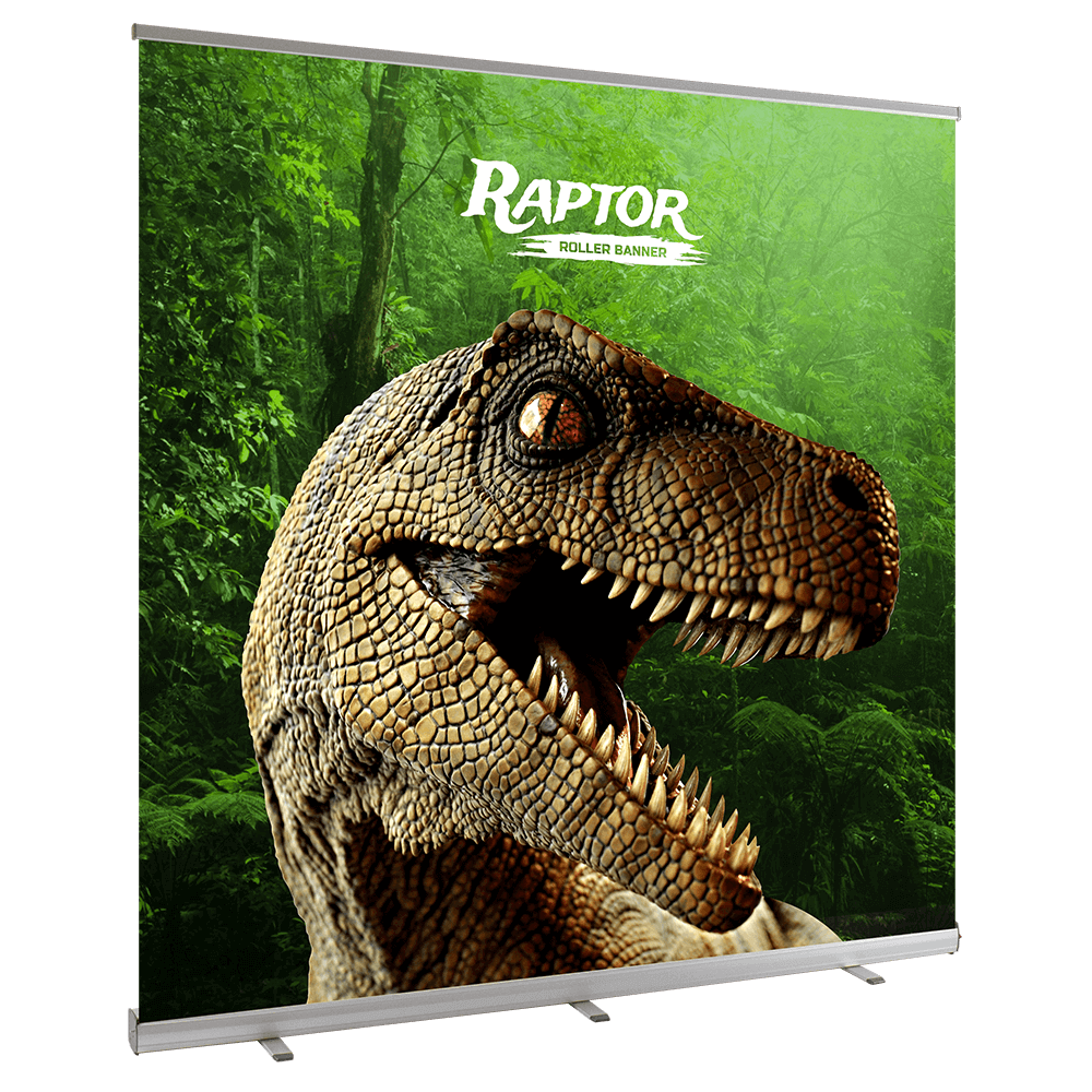 Wide Raptor Roller Banner
