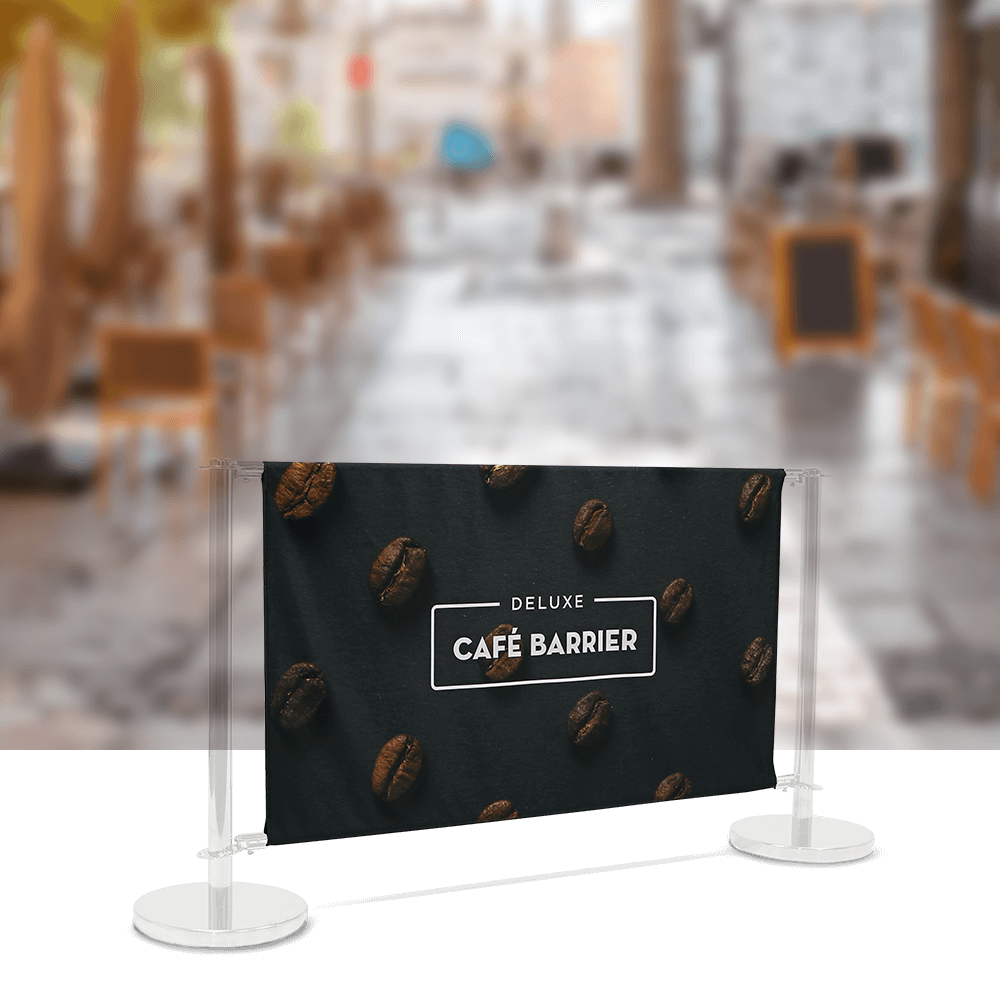 Replacement-Graphics Cafe-Barrier Deluxe 1500 Double-Sided