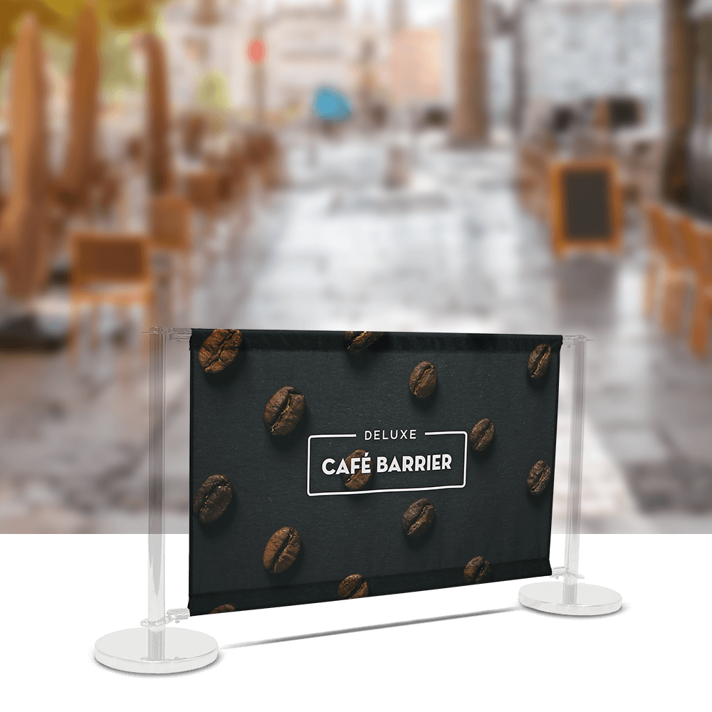 Replacement-Graphics Cafe-Barrier Deluxe 1500 Single-Sided