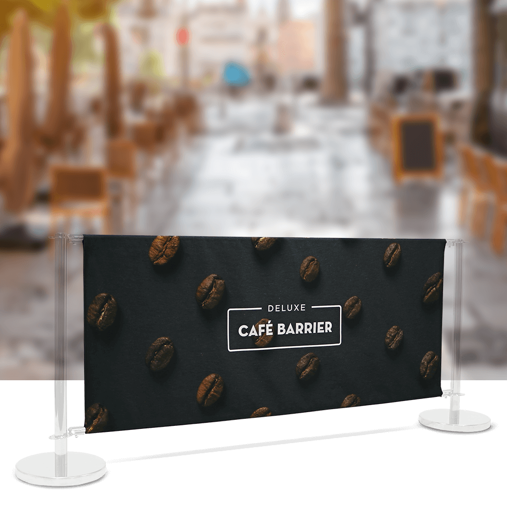 Replacement-Graphics Cafe-Barrier Deluxe 2000 Double-Sided