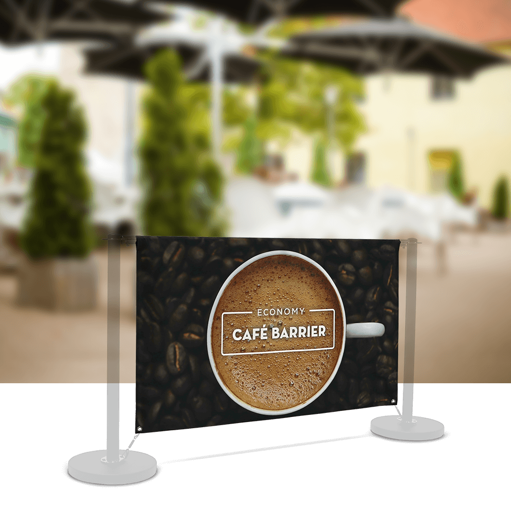 Replacement-Graphics Cafe-Barrier Economy 1500 Double-Sided