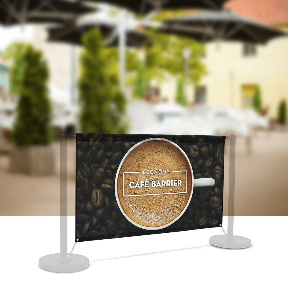 Replacement-Graphics Cafe-Barrier Economy 1500 Single-Sided