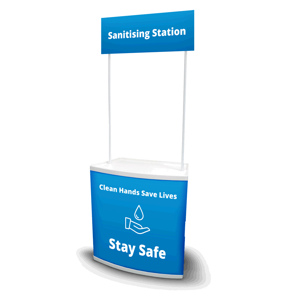 Sanitising Station - Counta Blue