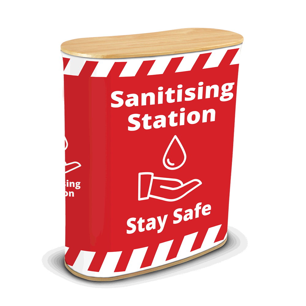 Sanitising Station - Seg