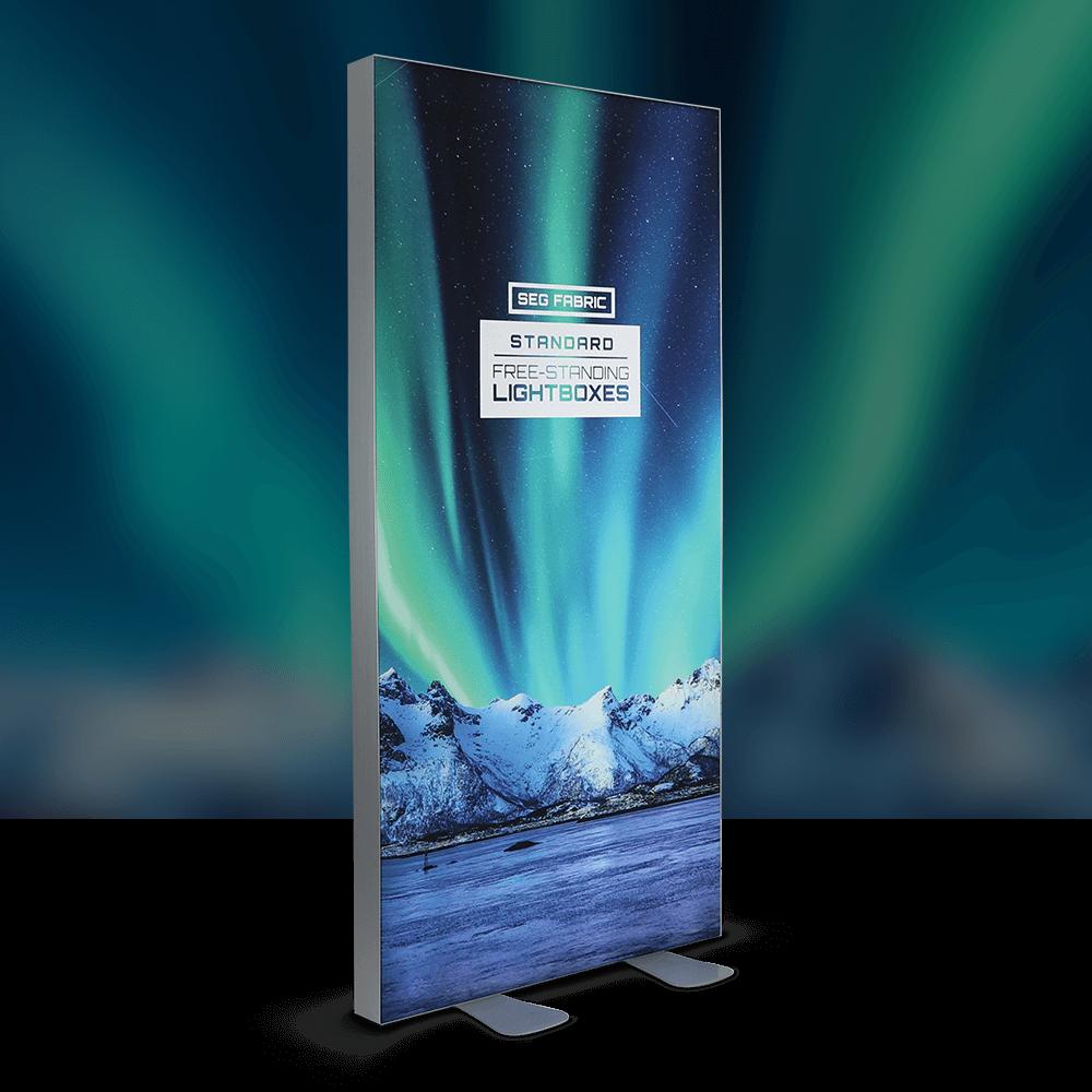 Standard SEG Free Standing Lightbox -  Lights Off