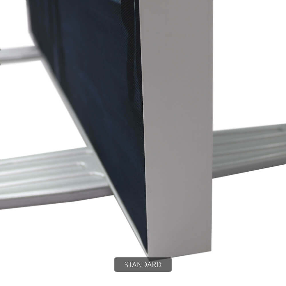 SEG Free-Standing Display - Standard - Detail Side And Feet