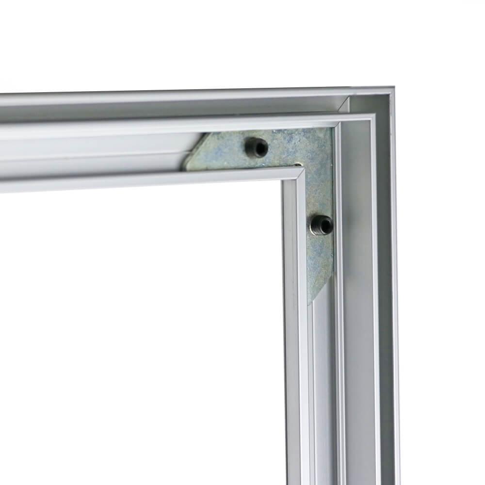 SEG Wall-Mounted Display - Detail Frame Corner