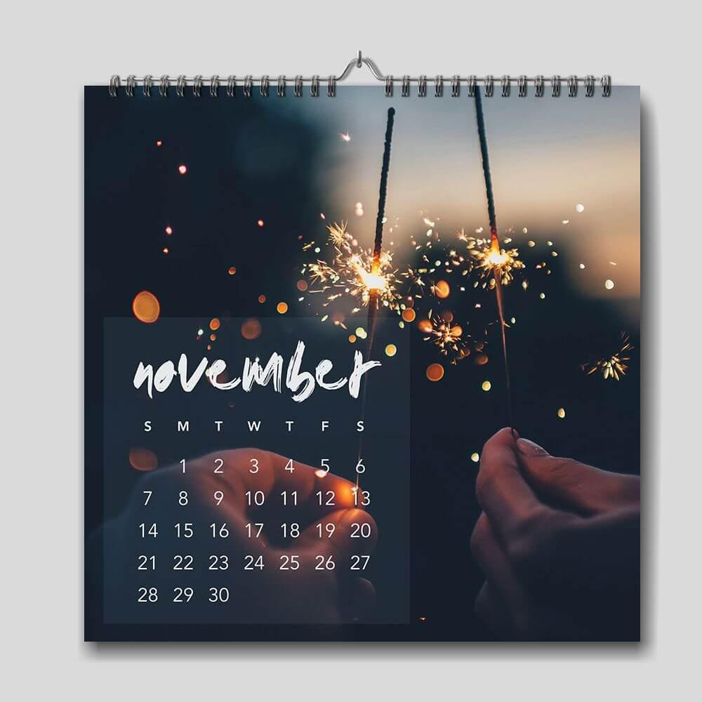 Square Wall Calendar