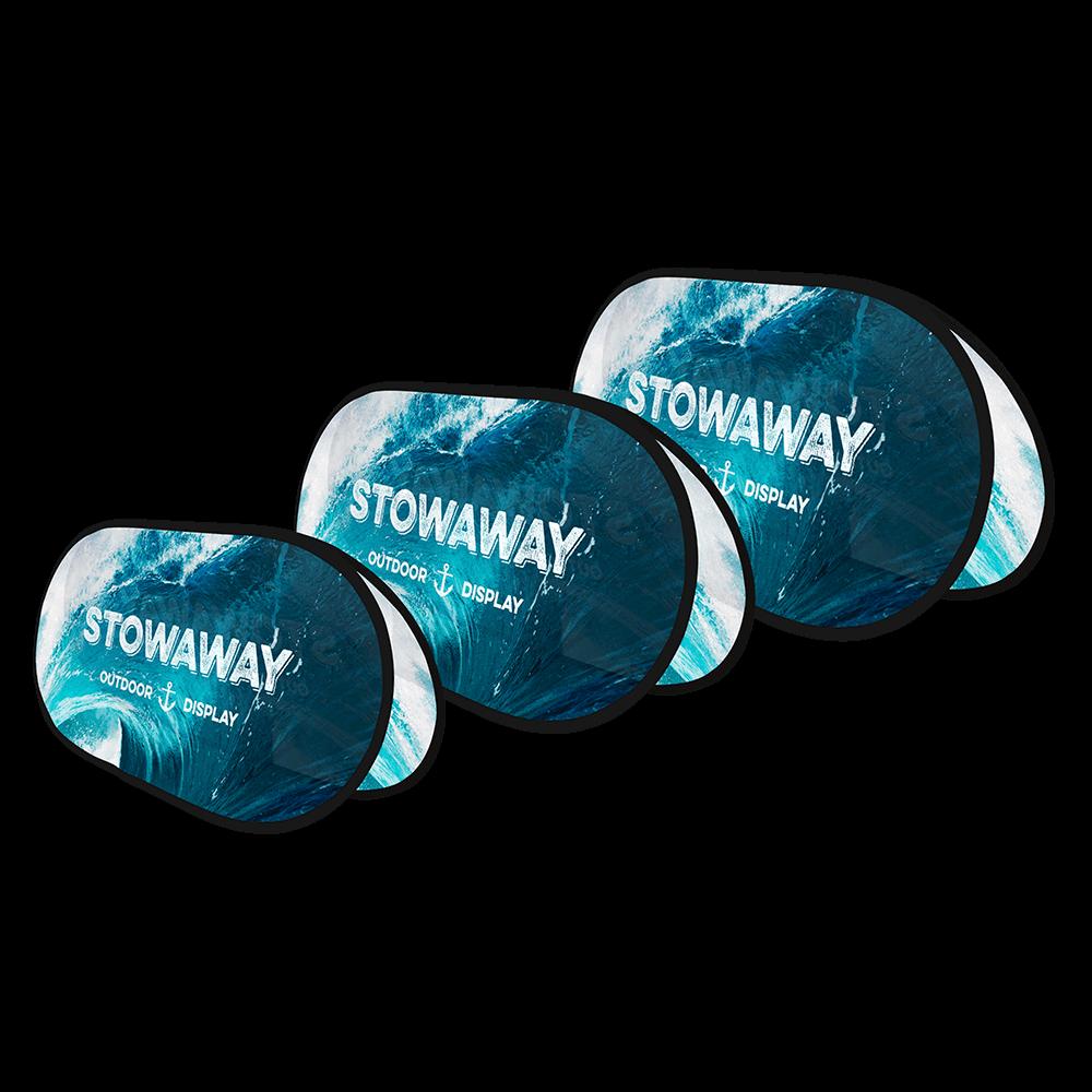Stowaway (Black Hems)