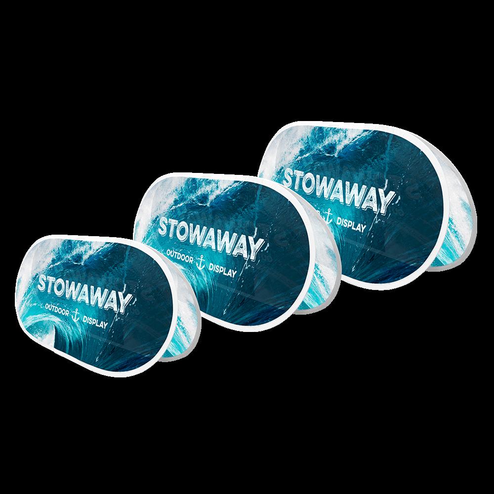 Stowaway (White Hems)