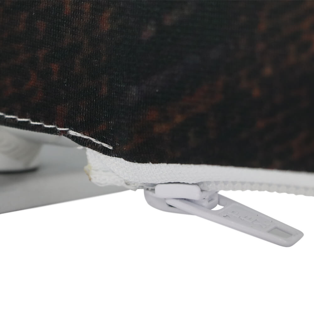 Stretch Fabric Economy Stand Detail Zip