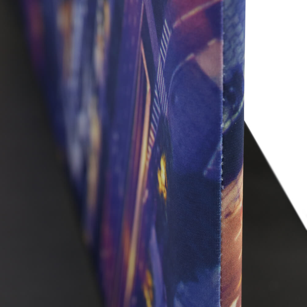 Stretch Fabric Premium Stand Detail Double Sided Edge