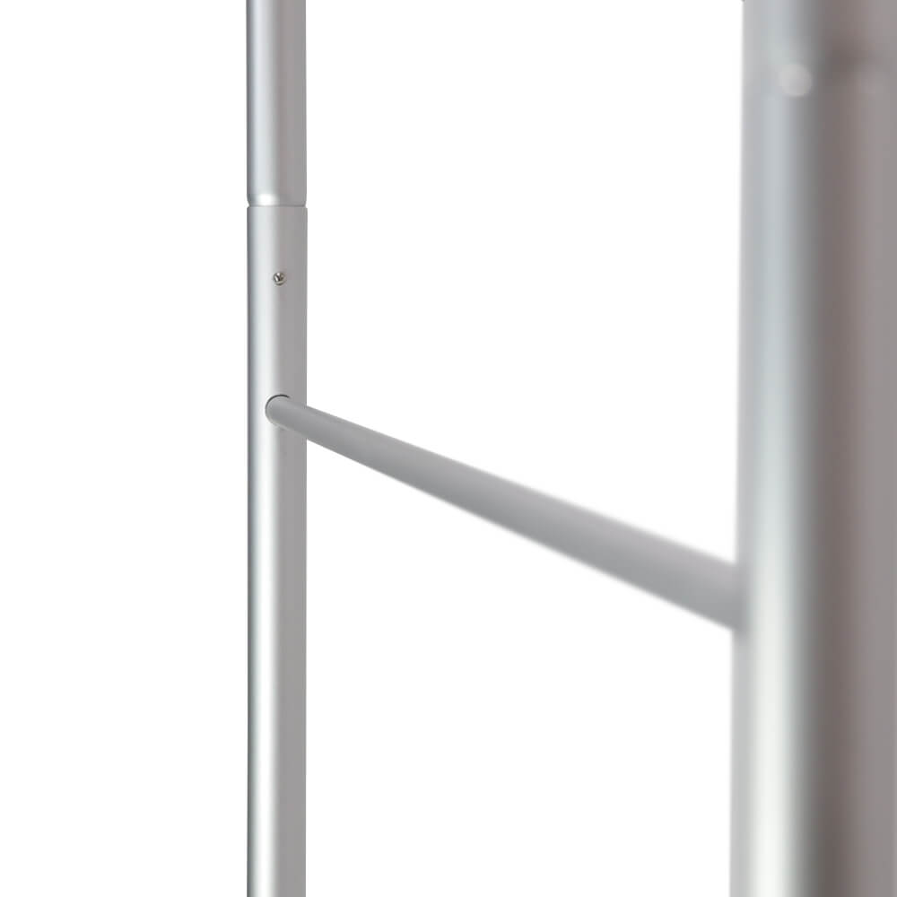 Stretch Fabric Premium Stand Detail Frame Side