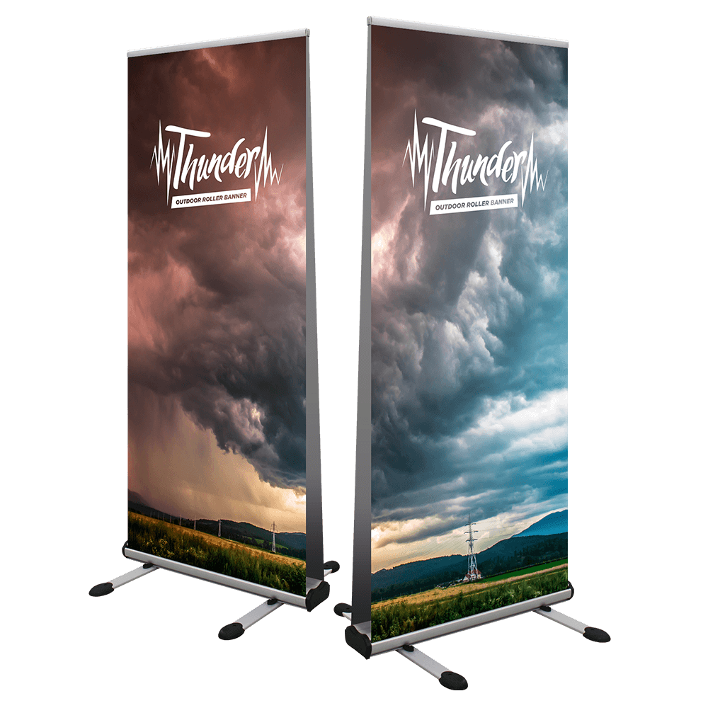Thunder Outdoor Roller Banner