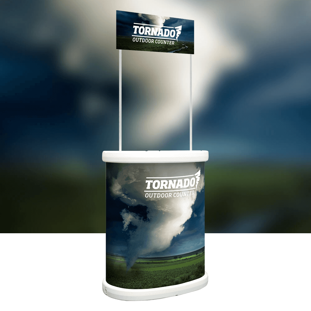 Tornado product image with background
