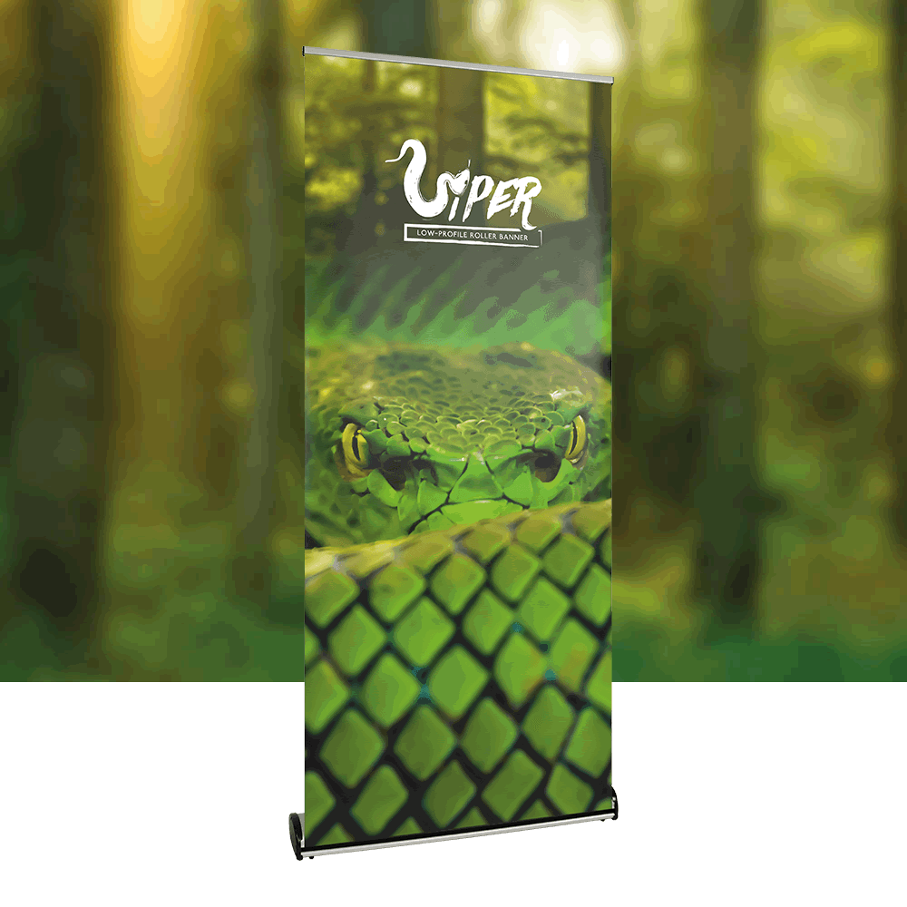 Low Profile Roller Banner