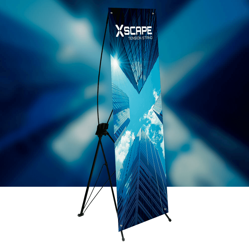 Xscape product image with background