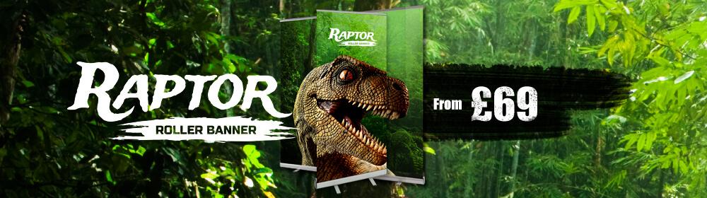 Raptor Roller Banner Slider