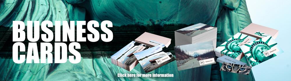 Business Cards Homepage Slider