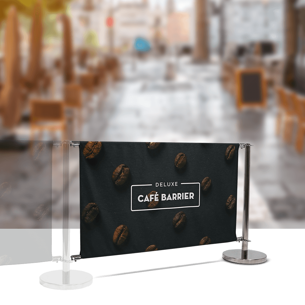 Cafe-Barrier Deluxe 1500 Double-Sided Extension