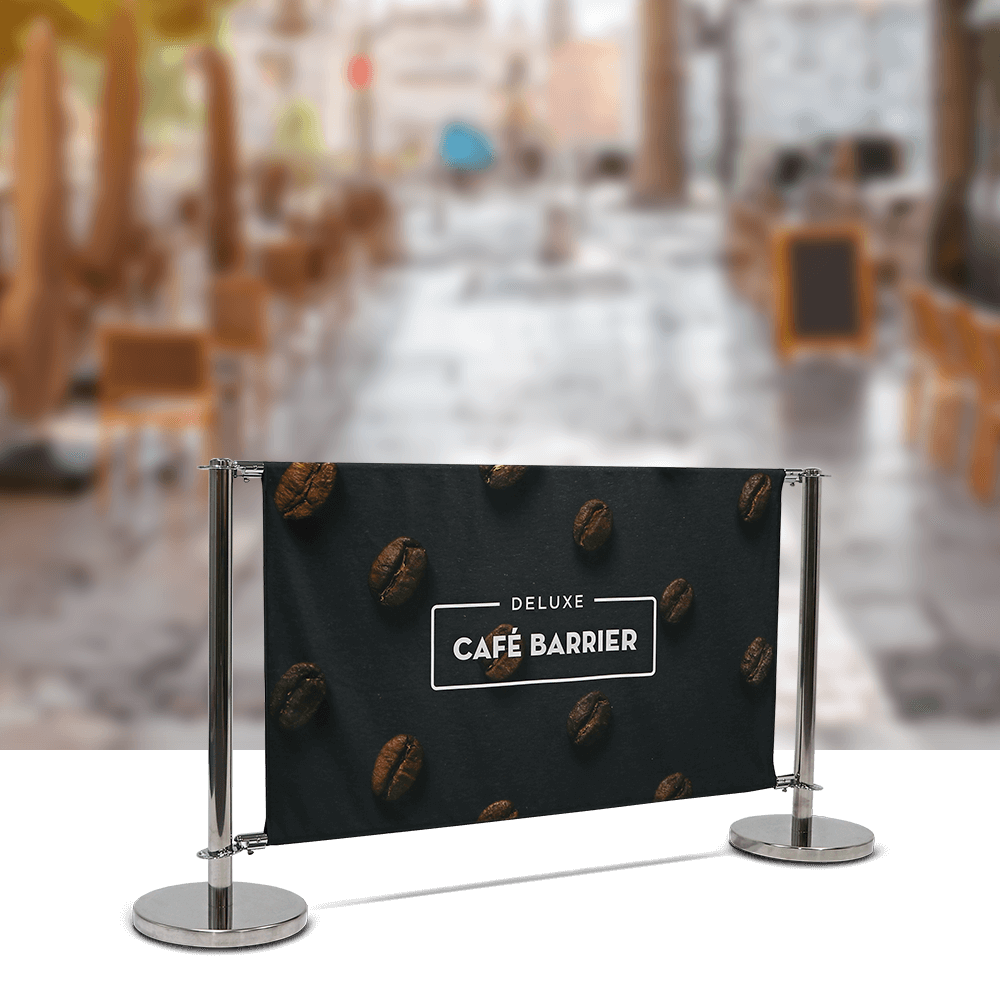 Cafe-Barrier Deluxe 1500 Double-Sided Front
