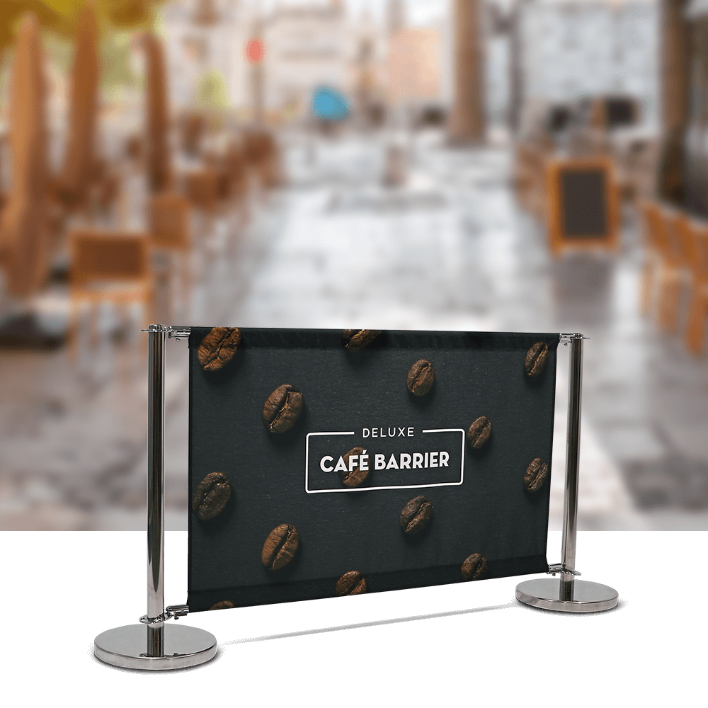 Cafe-Barrier Deluxe 1500 Single-Sided Front