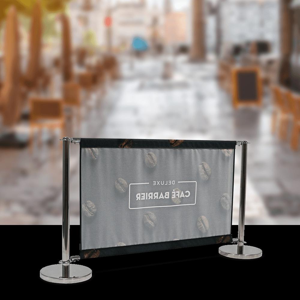 Cafe-Barrier Deluxe 1500 Single-Sided Rear