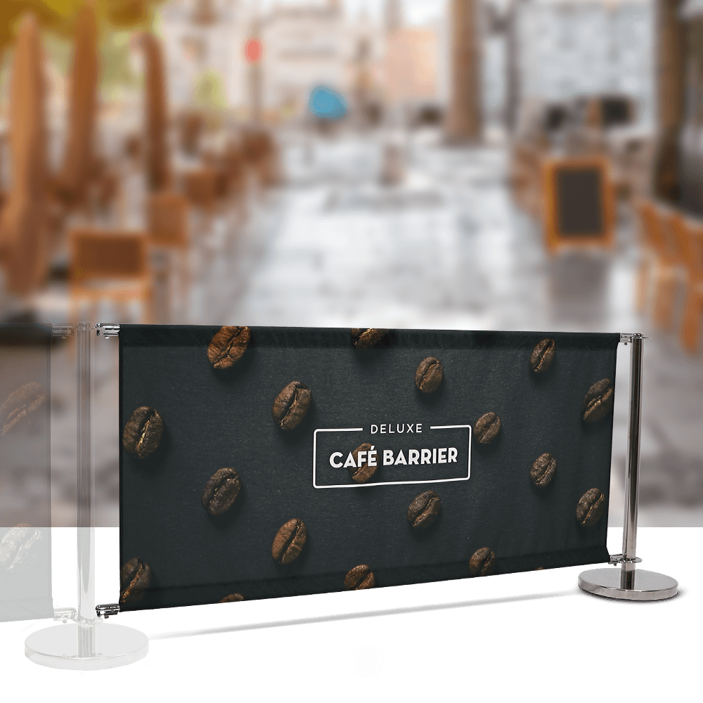 Cafe-Barrier Deluxe 2000 Single-Sided Extension