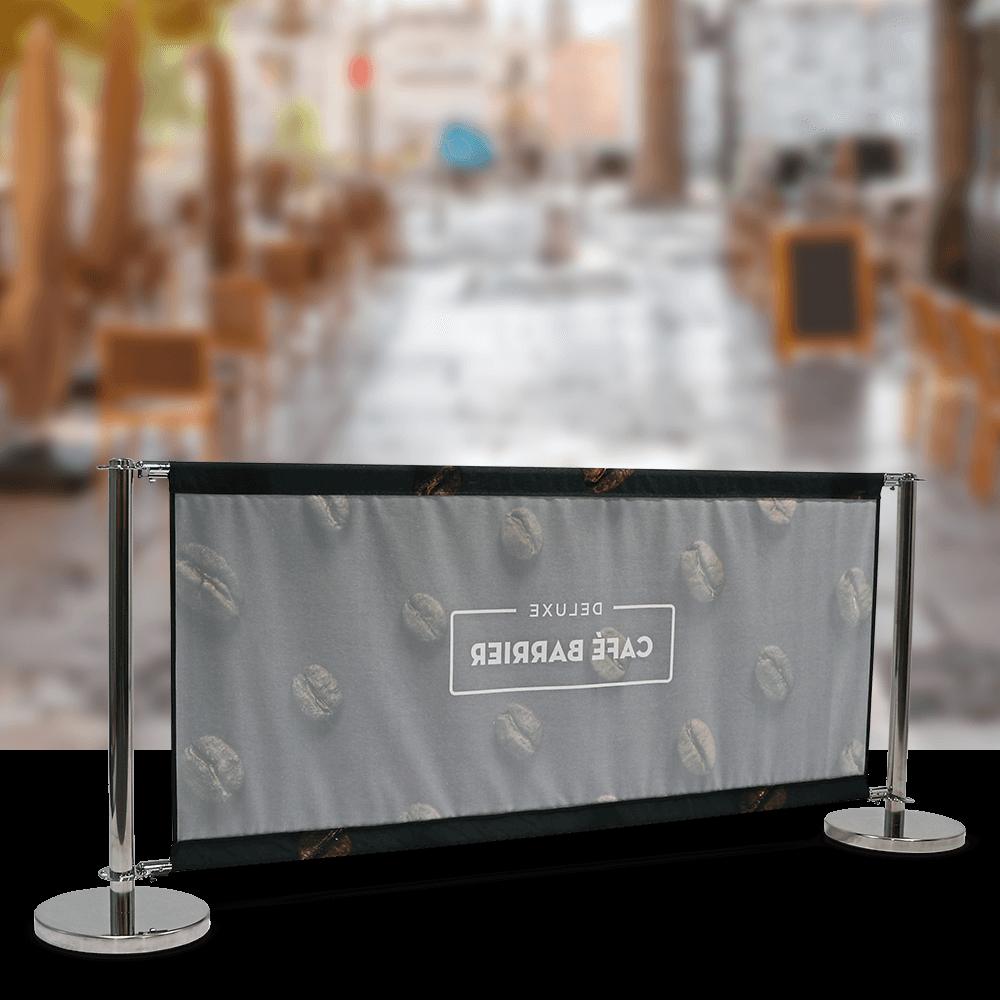 Cafe-Barrier Deluxe 2000 Single-Sided Rear