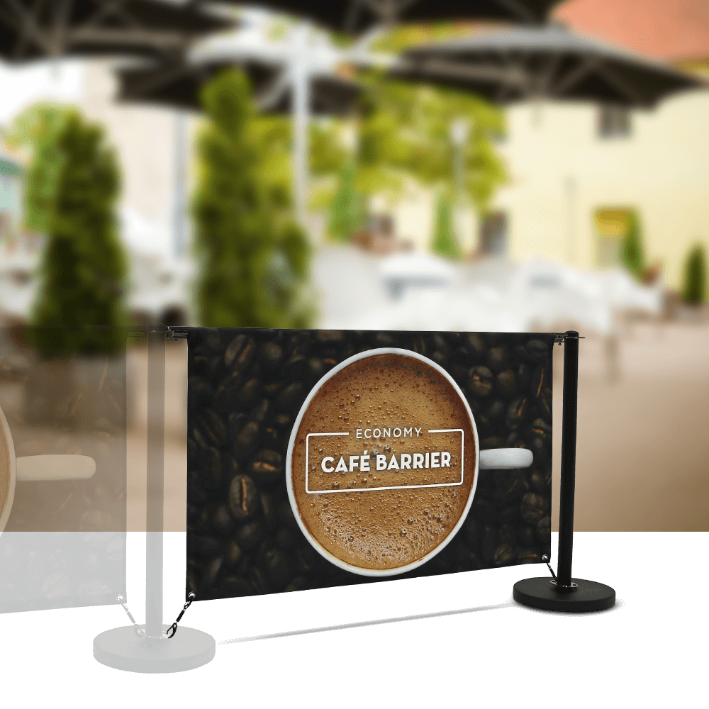 Cafe-Barrier Economy 1500 Double-Sided Extension