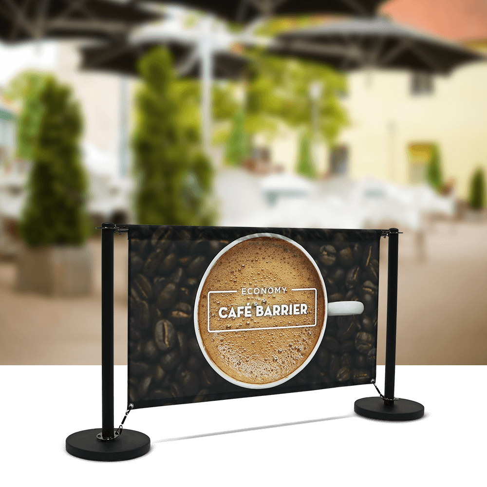 Cafe-Barrier Economy 1500 Single-Sided Front