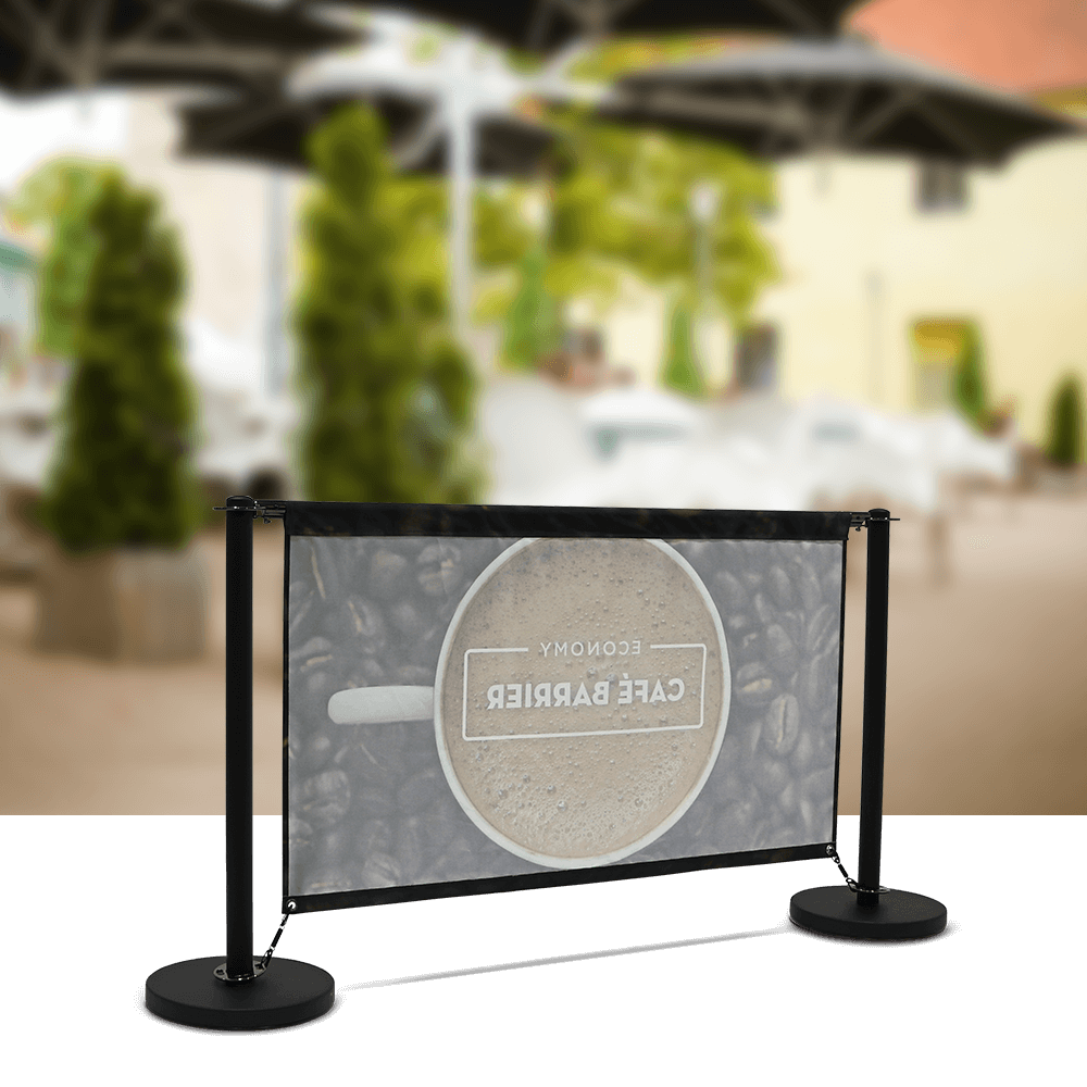 Cafe-Barrier Economy 1500 Single-Sided Rear
