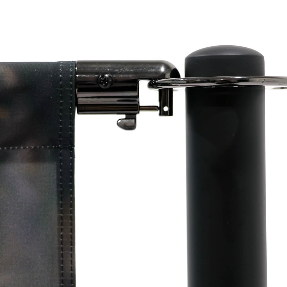 Cafe-Barrier Economy Detail Collar-Clip With Single-Sided Graphic