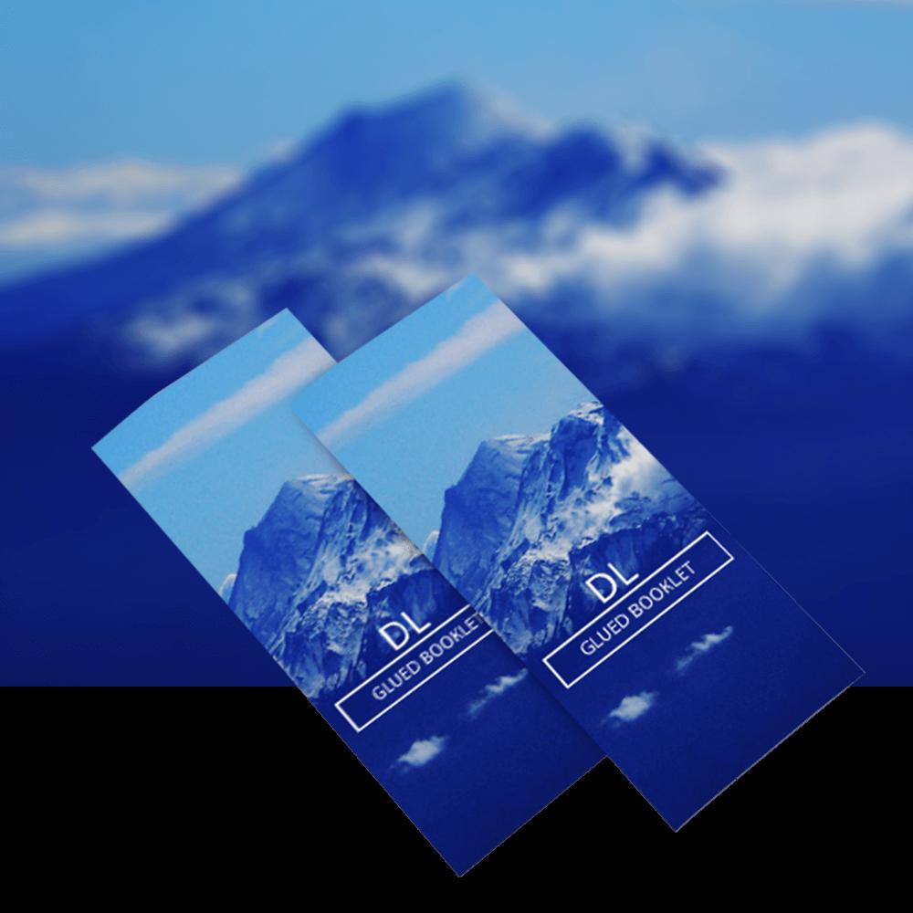 DL Glued Booklets