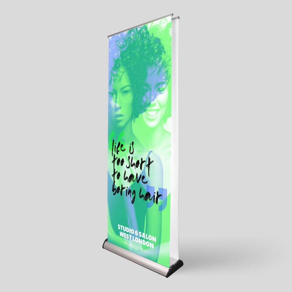Double Sided Roller Banner