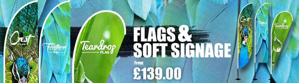 Flags And Soft Signage Slider