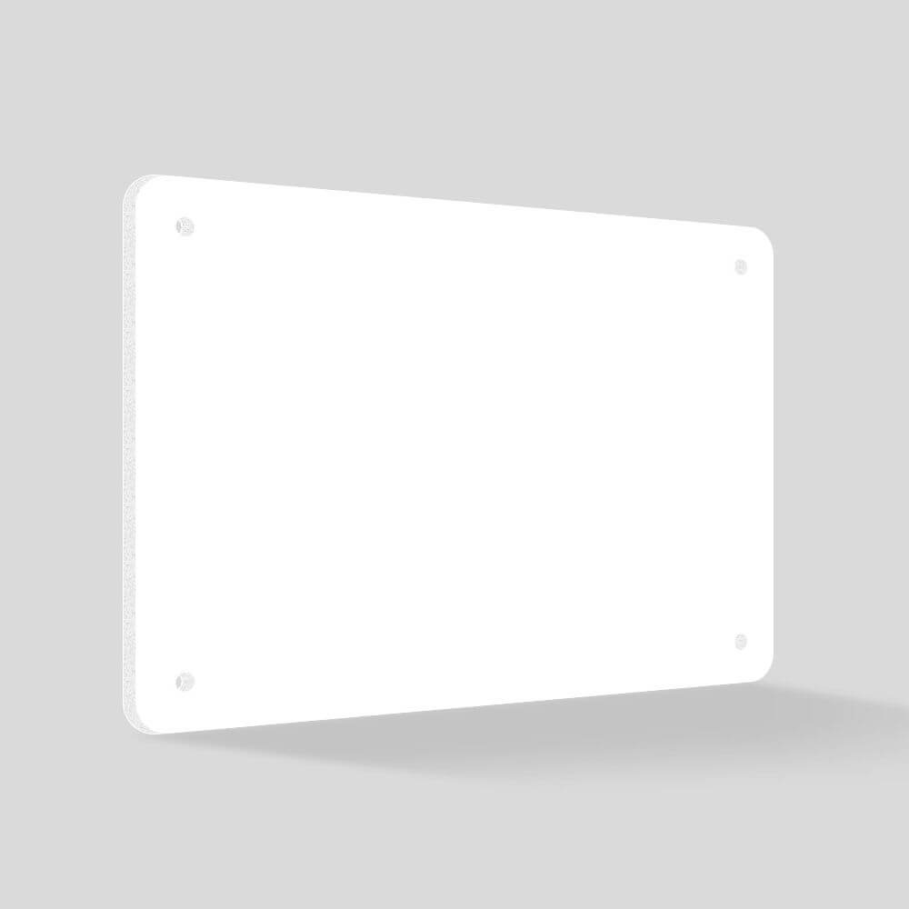 Foam PVC - No Graphics